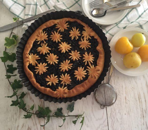 Crostata di marmellata di ciliegie e limone 6