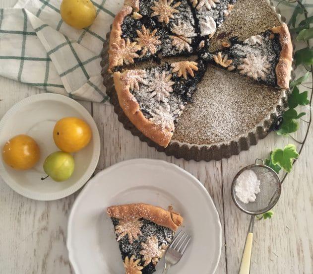 Crostata di marmellata di ciliegie e limone 7
