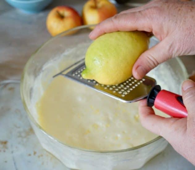 Torta di mele e marmellata di mele cotogne 2