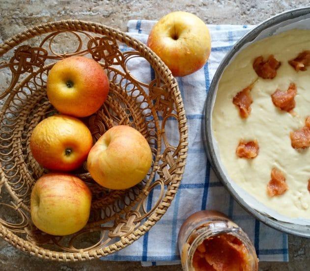 Torta di mele e marmellata di mele cotogne 4