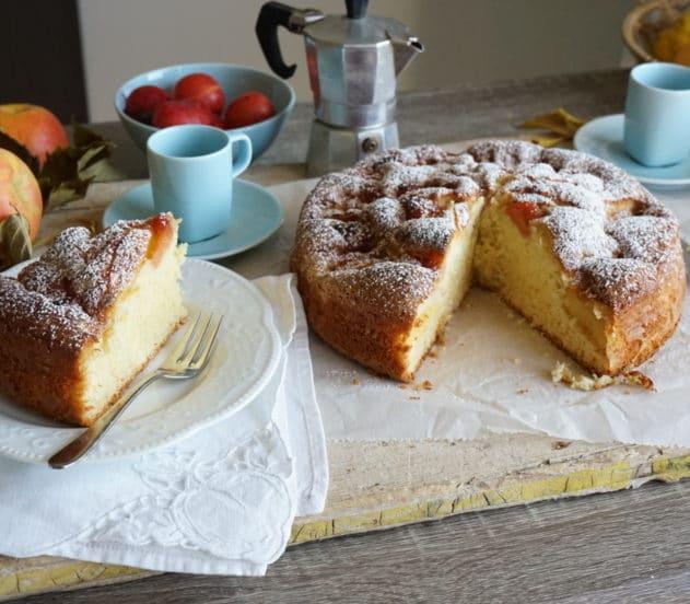 Torta di mele e marmellata di mele cotogne 8