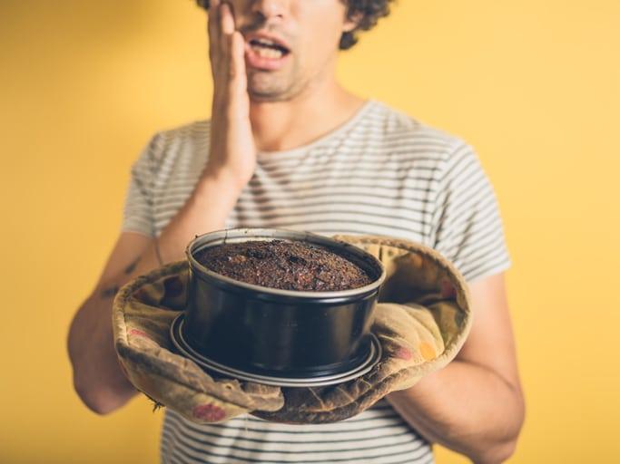 Esperimenti in cucina: un piatto venuto male