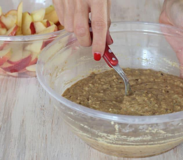 Torta di mele, quinoa e mandorle 5