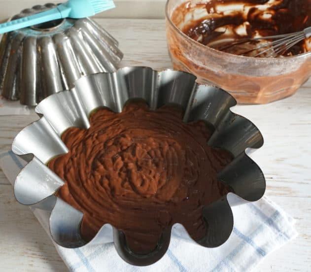 Torta al cioccolato vegan 10
