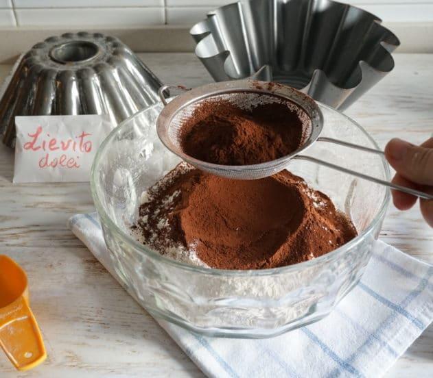 Torta al cioccolato vegan 2