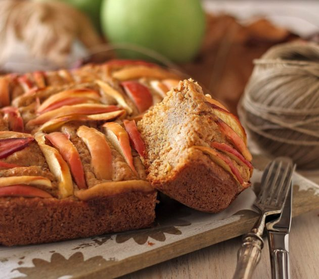 Torta di mele, quinoa e mandorle 7