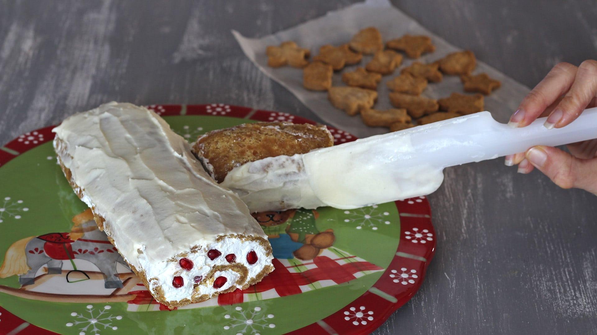 Tronchetto Di Natale Vegano.Tronchetto Di Natale Speziato