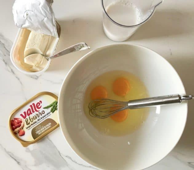 Torta Vallé uova