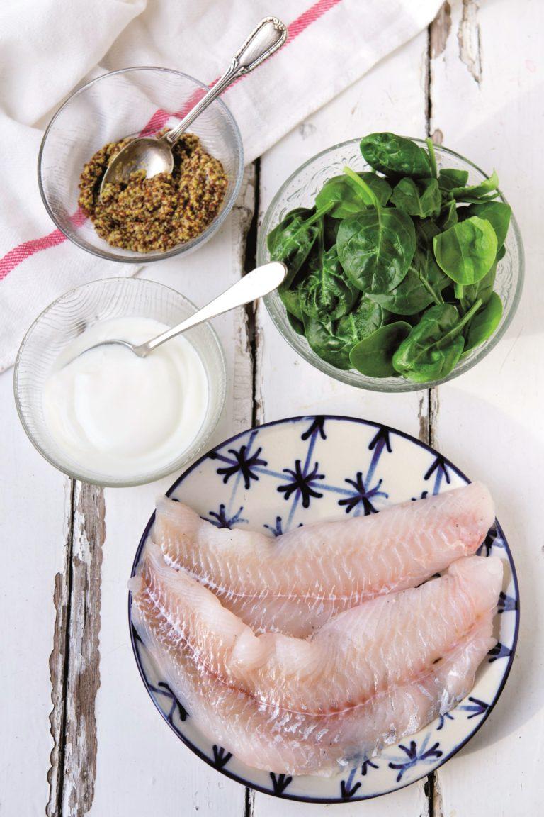 Filetti di merluzzo con salsa di yogurt e senape 1