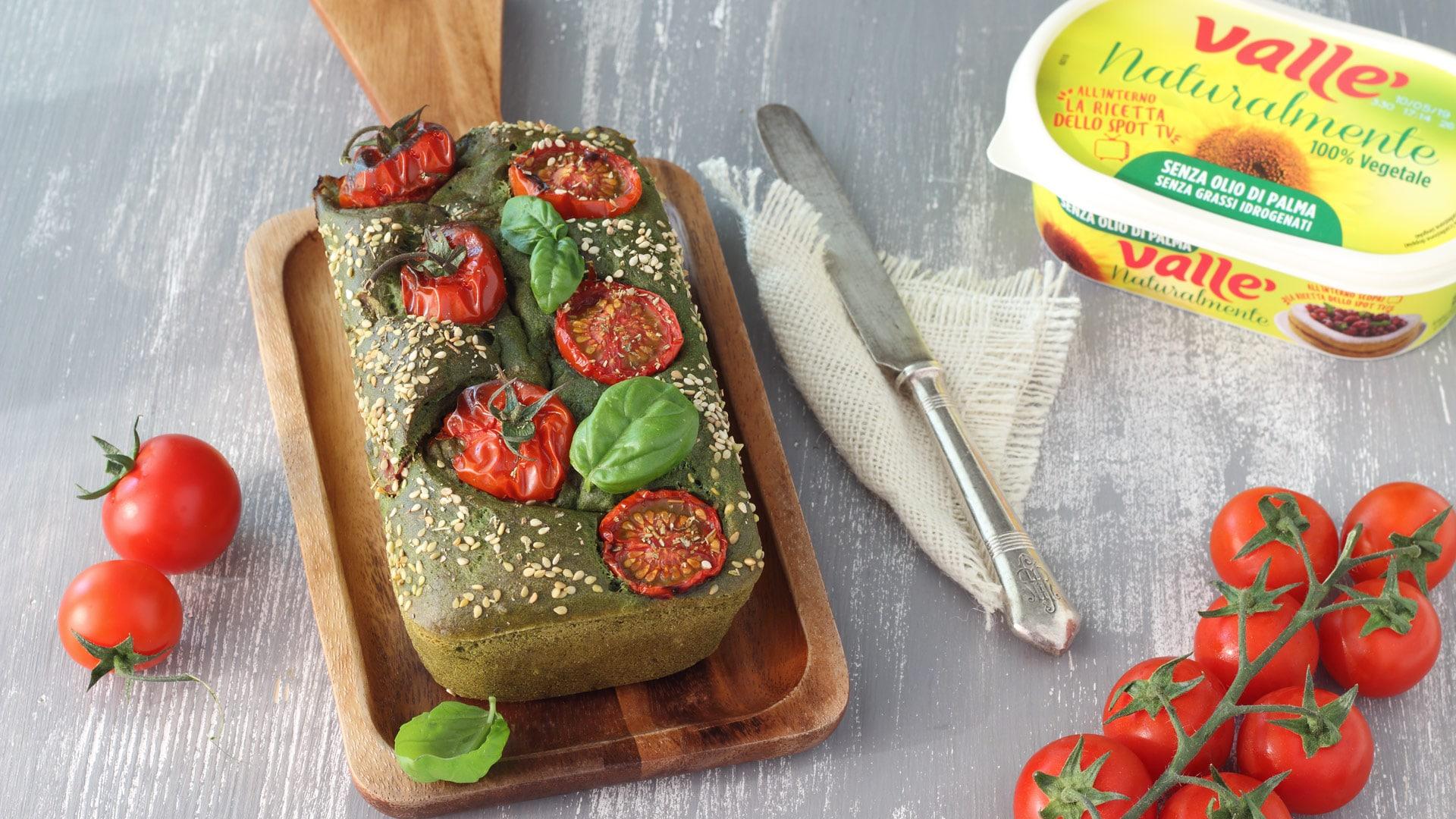 Plumcake salato vegan