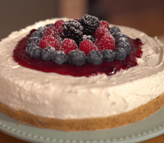 Cheesecake senza cottura B