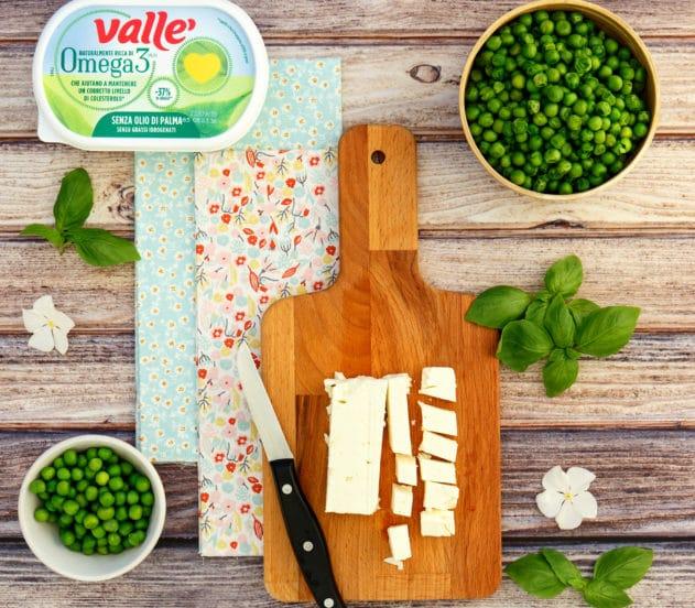 Plumcake salato ai piselli con pomodorini confit e basilico 2