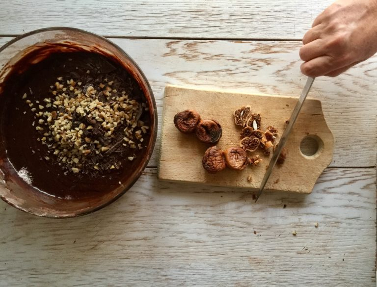 brownies cioccolato fichi 10