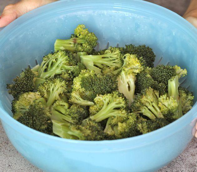 gallette di ceci e broccoletti 1
