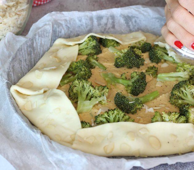 gallette di ceci e broccoletti 5