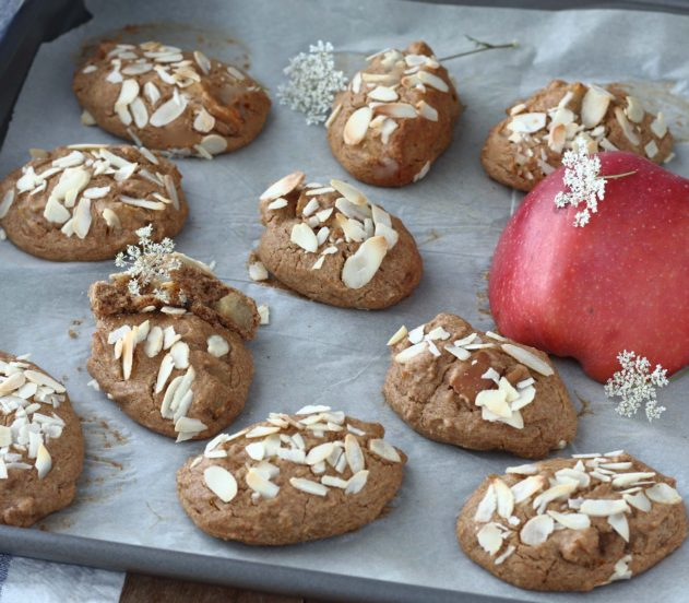 Biscotti rustici alle mele (6)