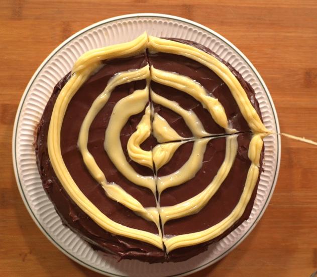 Poke cake ragnatela 11