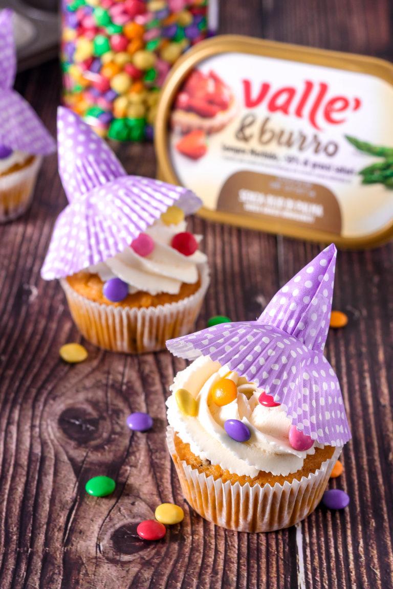 Appoggiamo sui nostri cupcakes! Pronti per essere divorati.