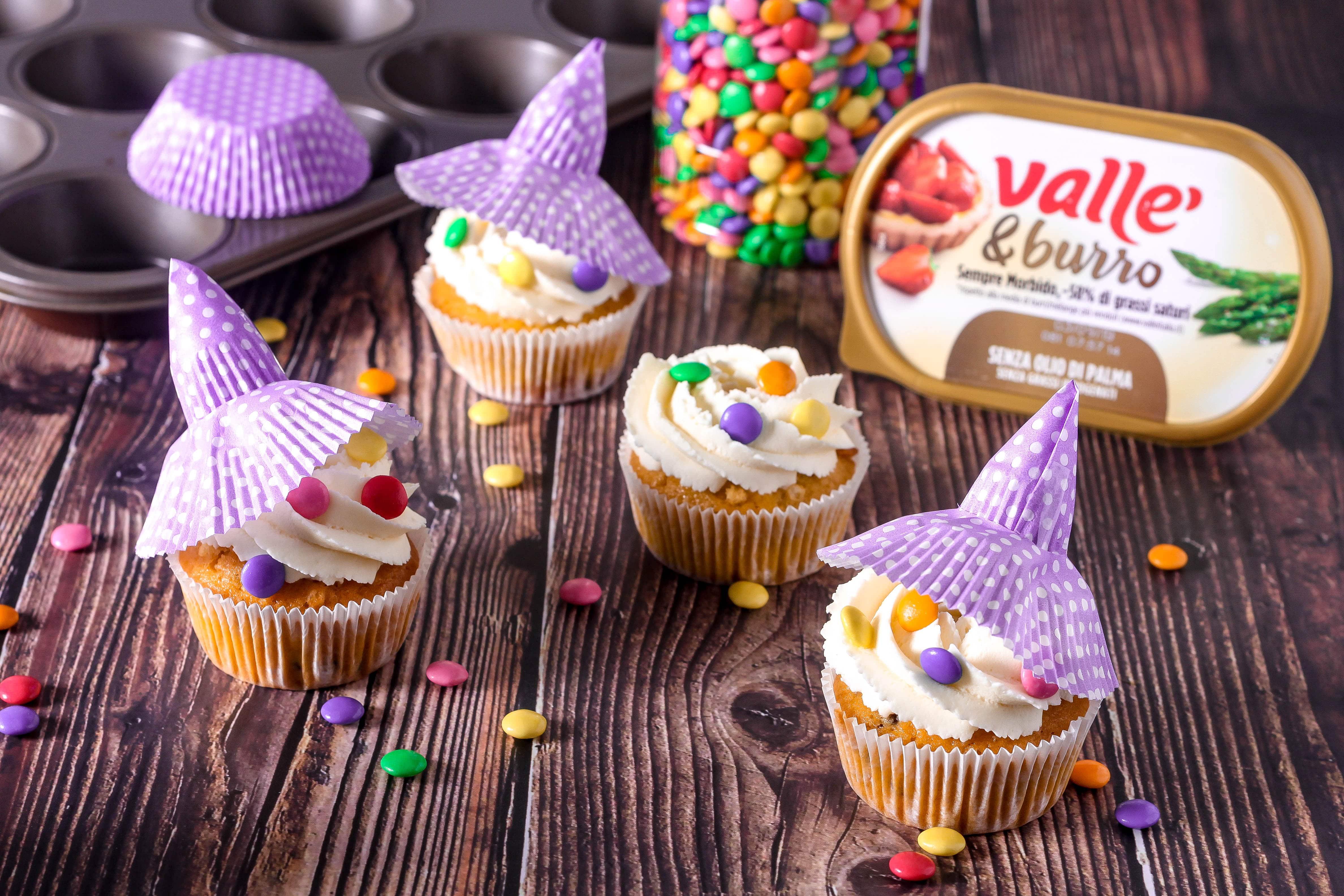 Cupcakes streghetta per Halloween
