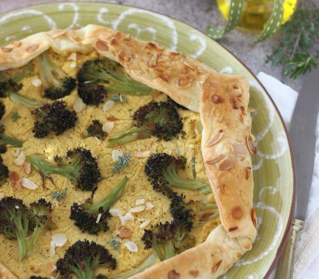 gallette di ceci e broccoletti 6