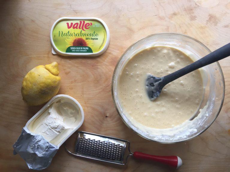 Aggiungere Vallé Naturalmente e la scorza del limone grattugiata.