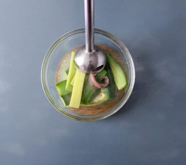 Rombo in padella, crema di zucchine e fiori di zucca brasati - Step 2