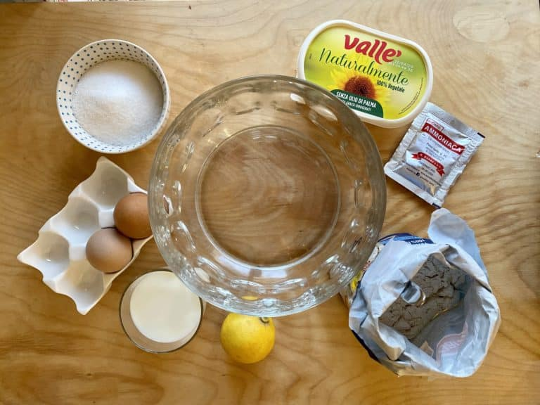 Preparare tutti gli ingredienti