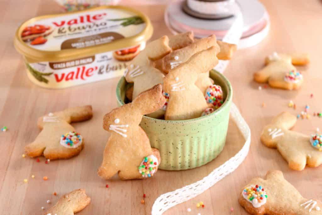 Biscottini a coniglietto pasquali