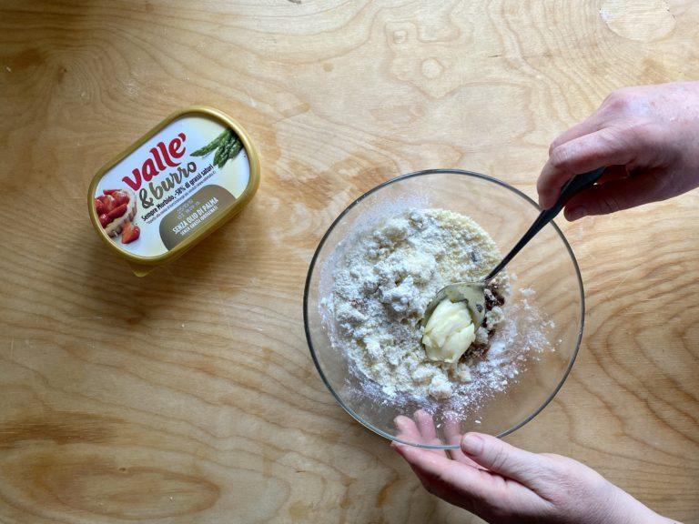Aggiungere un cucchiaio di Vallé&Burro ammorbidito
