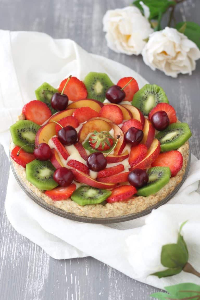 La nostra crostata alla frutta è pronta da gustare!