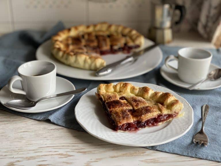La nostra Cherry pie è pronta!