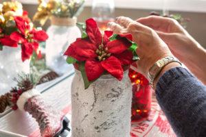 tips per apparecchiare la tavola di Natale