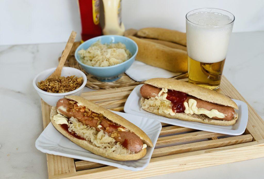Panini per hot dog