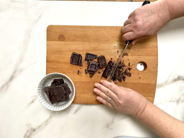 torta arance cioccolato fondente 6