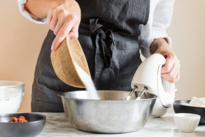ricette per la cheesecake preparazione zucchero fruste elettriche