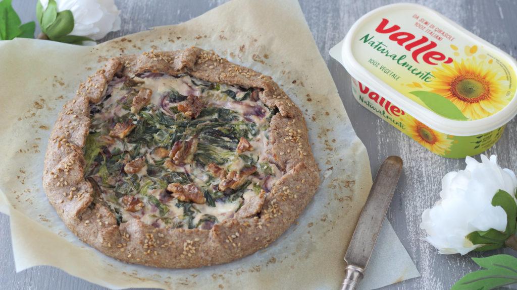 Torta rustica salata vegan